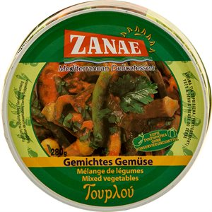 ZANAE Mixed Vegetables 280g