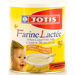 JOTIS Wheat Cereal with Milk (Farine Lactee) 300g