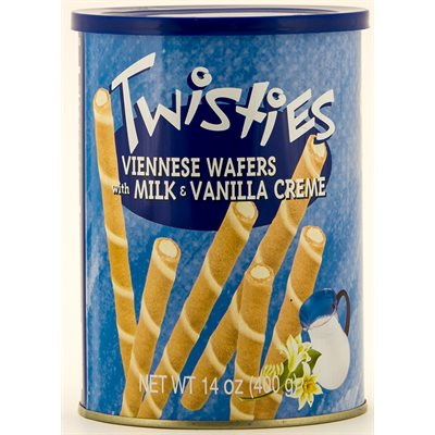 HAITOGLOU Twisties Viennese Wafers - Vanilla 400g