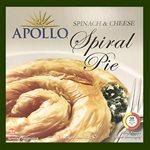 APOLLO Spiral Spinach & Cheese Pie 850g