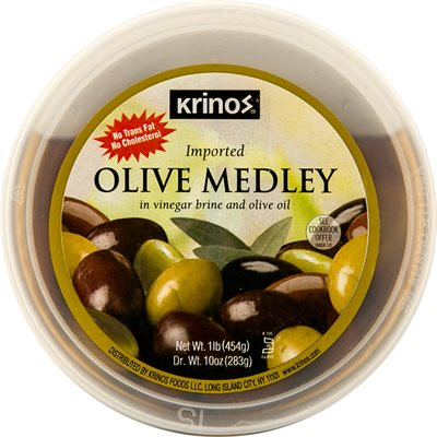 KRINOS Olive Medley 16oz