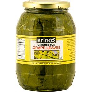 KRINOS Grape Leaves 2lb