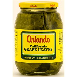 ORLANDO Grape Leaves 16oz