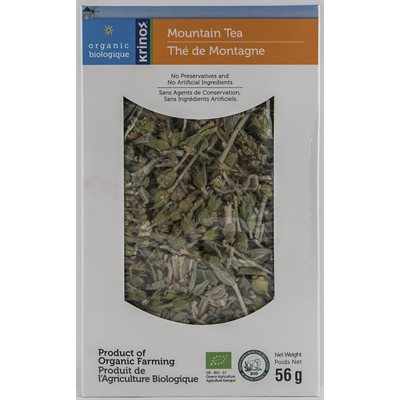 KRINOS Organic Greek Mountain Tea 56g