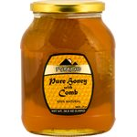 PYRAMID Honey with comb 1100g