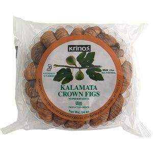 KRINOS Greek Kalamata Crown Figs 14oz