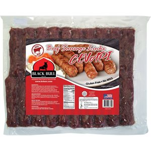 BLACK BULL Beef Sausage Links (Cevapi) 2lb