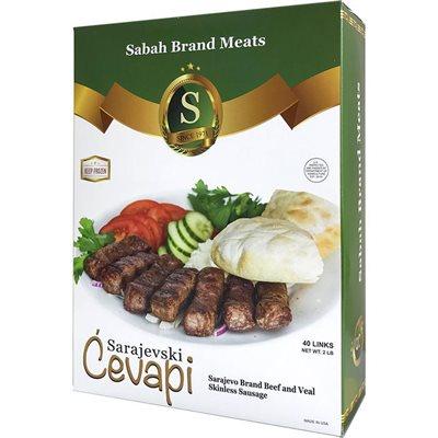 SABAH Sarajevski Cevapi (Beef and Veal Sausage) 2lb