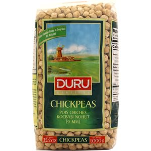 DURU Raw Chick Peas (Nohut) 1kg