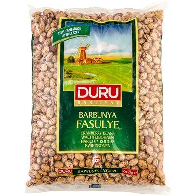 DURU Cranberry Beans (Barbunya Fasulye) 1kg