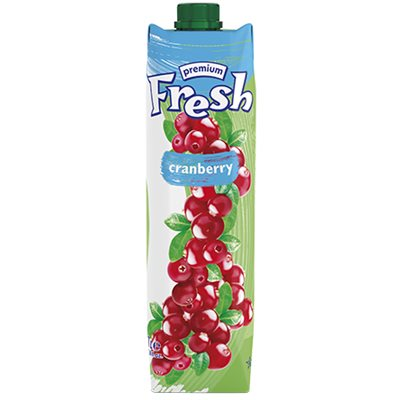 FRESH Premium Cranberry Juice 1L