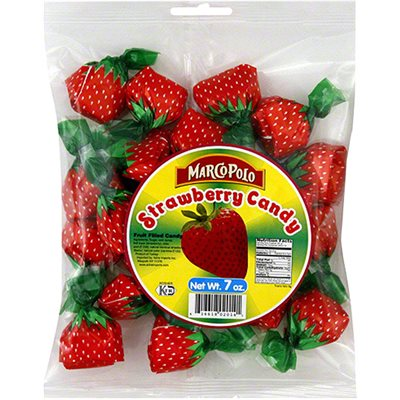 MARCO POLO Strawberry Candy 7oz