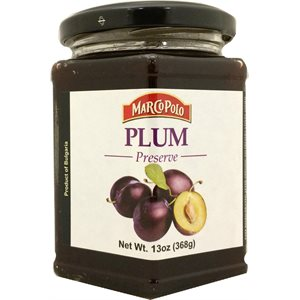 MARCO POLO Plum Preserves 13oz