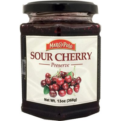 MARCO POLO Sour Cherry Preserves 13oz