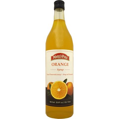 MARCO POLO Orange Syrup 1L
