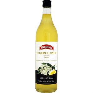 MARCO POLO Elderflower Syrup 1 ltr