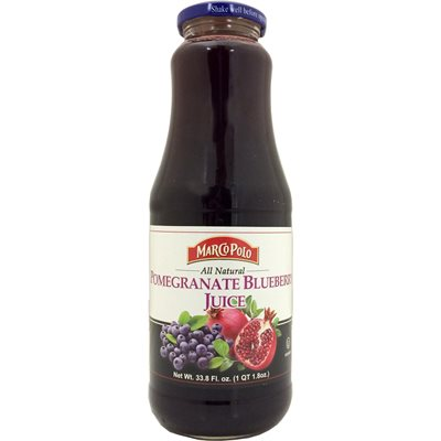 MARCO POLO Pomegranate Blueberry Juice 1L