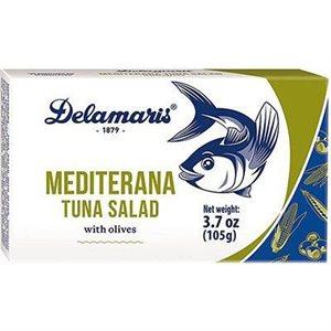 DELAMARIS Mediterana Tuna Salad 105g