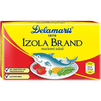 DELAMARIS Isola Mackerel Salad 125g