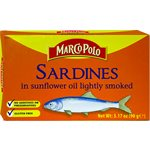 MARCO POLO Sardines Smoked in Sunflower Oil 90g