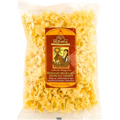 KELEMEN Homemade Broad Large Square Egg Noodles 285g