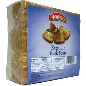 MARCO POLO Regular Golden Rusks 7.7oz