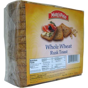MARCO POLO Whole Wheat Rusks 7.7oz