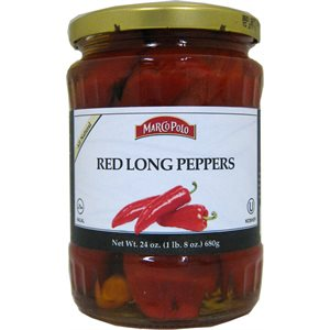 MARCO POLO Red Long Peppers 24oz