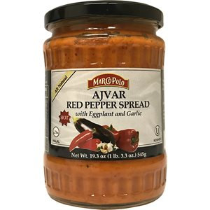 MARCO POLO Hot Ajvar Red Pepper Spread 19.3oz