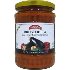 MARCO POLO Bruschetta (Red Pepper & Eggplant) 19.3oz
