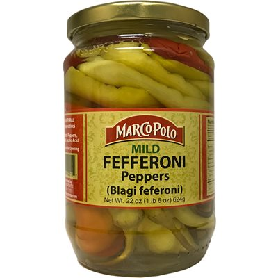 MARCO POLO Mild Fefferoni Peppers 22oz