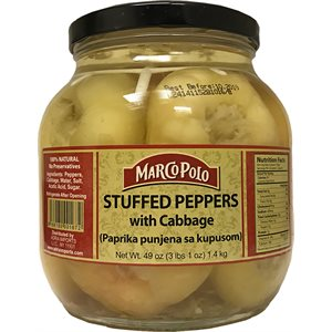MARCO POLO Stuffed Peppers with cabbage 49oz