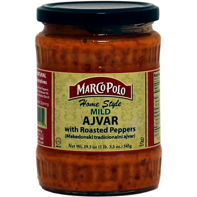 "MARCO POLO ""Homestyle"" Mild Ajvar with roasted peppers 19.3oz"