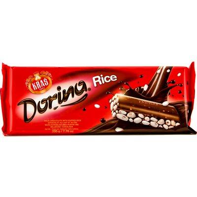 KRAS Dorina Chocolate with Puffed Rice 220g