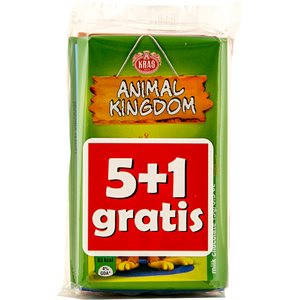 KRAS Animal Kingdom Milk Chocolate (5+1 gratis) 90g