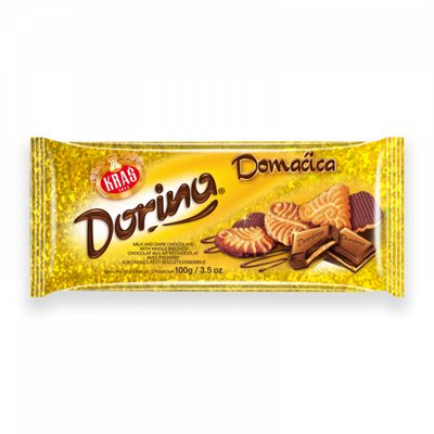 Dorina Chocolate with Domacica Biscuits 100g