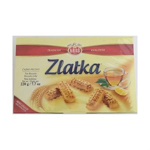 KRAS Zlatka Tea Biscuits 220g
