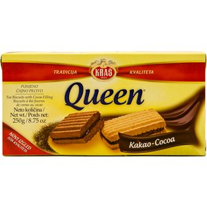 KRAS Queen Kakao Cookies 250g