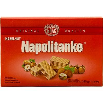 KRAS Napolitanke Hazelnut Wafers 330g