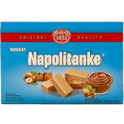 KRAS Napolitanke Nougat Wafers 500g