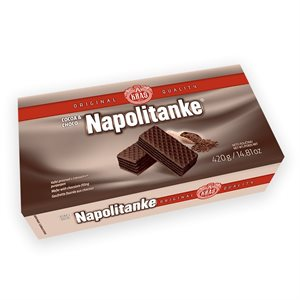 KRAS Napolitanke Cocoa & Chocolate Wafers 420g