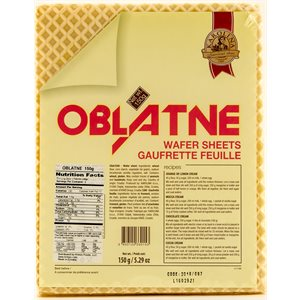 KRAS Karolina Oblatne Wafer Sheets150g