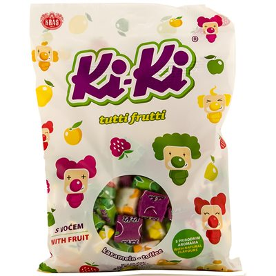 KRAS Ki-Ki Assorted Fruit Toffee 400g