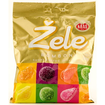 KRAS Zele Kristal Jelly Candy 200g