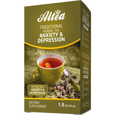 ALTEA Traditional Herbal Tea - Anxiety & Depression 50g