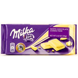 MILKA White Chocolate (Weisse) 100g