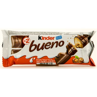 FERRERO Kinder Bueno Chocolate 43g