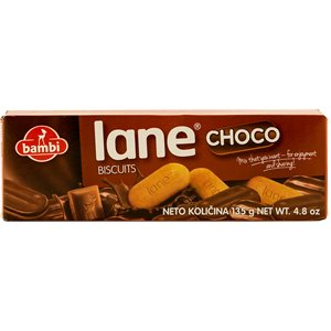 BAMBI Lane Chocolate Covered Biscuits 135g