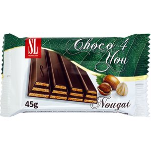 SWISSLION Choco 4 You Wafers with nougat 45g