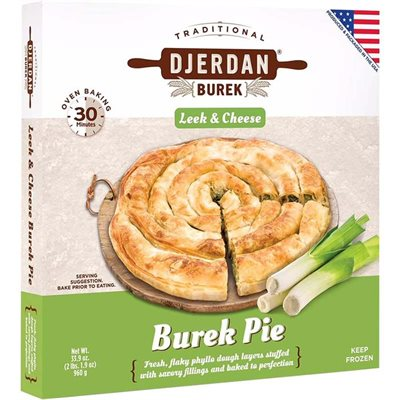 DJERDAN Leek and Cheese Burek 980g